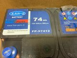 KAR S AUTO ACCU 12 VOLT 74 AH TYPE FP 57412 Nieuw _