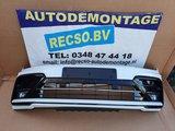 VW Tiguan 5NA R-Line R Line voorbumper 4x PDC LC9A Wit_