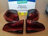 Golf 7 R Facelift Achterlichten LED Dynamische NIEUW inbouw_