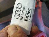 Audi A1 8X Voorbumper 4X pdc kls Rood 8x0807437LH_