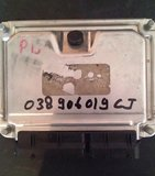ECU Computer  VW GOLF 4 038906019CJ AJM 1.9 TDI_