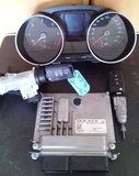 ECU Computer compleet set VW POLO 6C 04B907445 1.4 tdi_