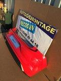 VW polo 2G GTI Achterbumper Rood LP3G 6XPDC_