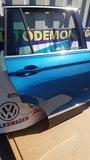 VW Tiguan 2016 Rechts achter portier deur Carribean blue LD5J_