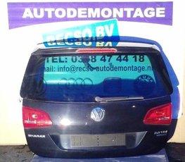 VW Sharan 7N achterklep klep zwart LC9X