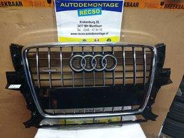 Audi Q5 8R Grill Front voor Grill orgineel NIEUW 8R0853651B