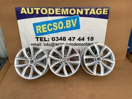 VW Tiguan Kingston Velgen 18 inch 5NA601025B