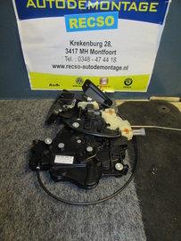 Caddy Schuifdeur deur slot Slotmechaniek 2K0843654BB 2K5843654C