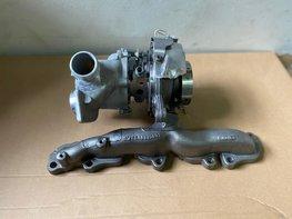 2.0 TDI turbo met uitlaatspruitstuk 04L253010B