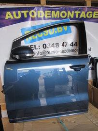 VW Sharan 7N portier deur links voor Blauw 7N0831311