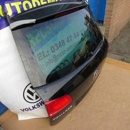 VW Touareg achterklep koffer deksel zwart bj 2016