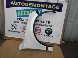 VW Touareg 7P Scherm Rechts voor Wit LOK1