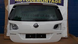 VW Sharan 7N achterklep koffer klep Wit LC9A