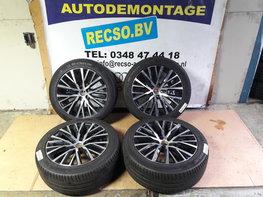 Orginele Lakeville VW Passat CC Scirocco Velgen Michelin zomerset 245/45/18 3C8601025R