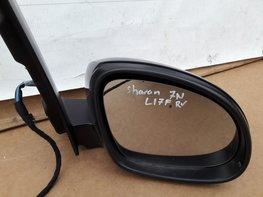 VW Sharan 7N spiegel Recht voor LI7F urano grey