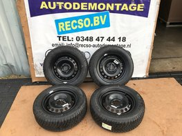 VW Golf 5 6 7 Audi A3 Winter set Winterbanden Dunlop 195/65/15 NIEUW