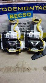 Audi A6 veiligheidsgordel Nieuw Dubbele Ontsteking Gordelset 4G8857705H