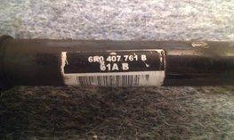 Aandrijfas Links 6R0407761B 1.2 TSI automaat gebruikt