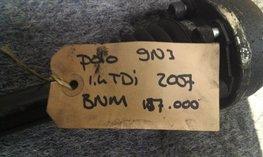Aandrijfas Links Polo 9n3 1.4 TDI 2007 5 bak gebruikt