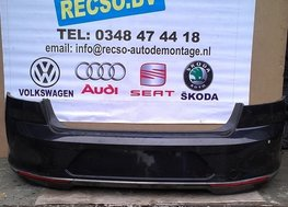 achterbumper VW Passat B8 2015 PDC inparkeer sedan LC9X