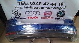 achterbumper VW Touran 2009 bumper donker blauw
