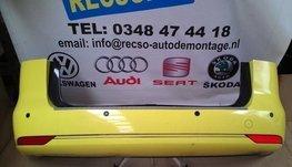 achterbumper VW Touran 2012 bumper geel