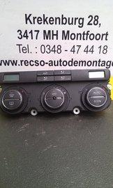 Bedieningspaneel Clima verwarming airco Golf 1K0907044AF