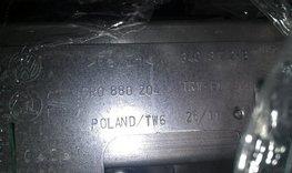 Dashboardairbag Polo 6r airbag rechts bijrijder 6R0880204