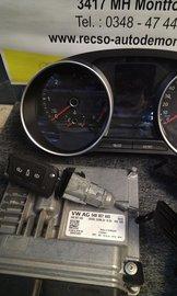 ECU Computer compleet set VW POLO 6C 04B907445 1.4 tdi