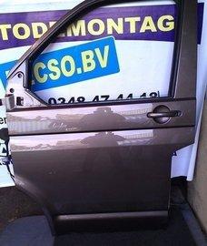 portier deur T5 Transporter links voor toffeebruin LH8Z kaal