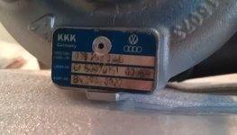 Gereviseerde Turbo 1.9 TDI 038253014G BKC BJB BXE BRU