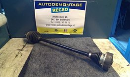 VW POLO 6C Aandrijfas Rechts 6C0407272G 1.4 tdi Cus