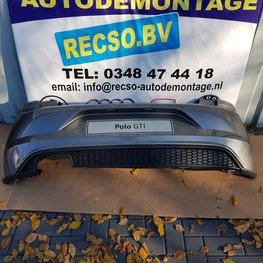 VW polo 2G GTI Achterbumper LA7N 2G6807421A