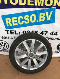 Golf 5 6 Porto Velg met Band 5K0601025F 5K0601025AN