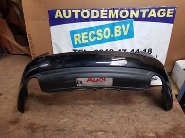 achterbumper Audi A5 bumper zwart krasjes 8T0807511