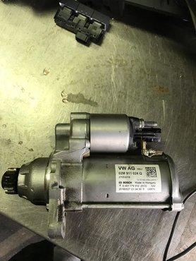 VW Polo 2G startmotor 02M911024Q 02M911021G 02M911021GX