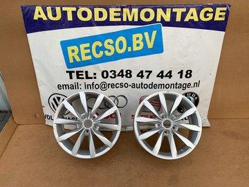 VW Golf 7 Dijon Velg 6Jx17H2 ET48 5x112 5G0601025CH