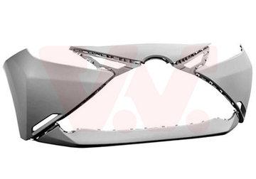 Toyota Aygo 2014+ voorbumper Nieuw primer 52119-0H918