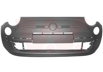FIAT 500 VoorBumper Nieuw 71777627 Chroom Sierlijst
