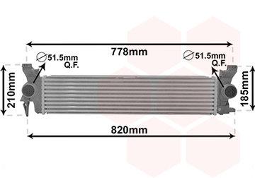 Mercedes Vito V-Klasse Intercooler A447-501-0501