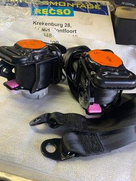 Achtergordel AUDI A1 8X4 2011 2018 gordel set
