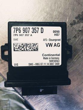 Regelapparaat voor bochtenverlichting en lichtbundelhoogteverstelling 7P6907357D /A