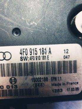 A6 accu module 4F0910181A