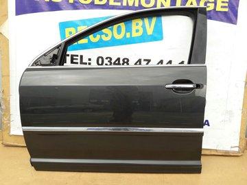 VW Phaeton 2010 portier deur links voor zwart grijs