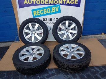 Orginele VW Phaeton Velgen en Banden 245/60R18 3D0601025AM