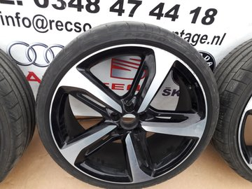 1X Orginele Audi A6 RS6 Velgen en Banden Pirelli 265/30R21 4G0601025CM CN