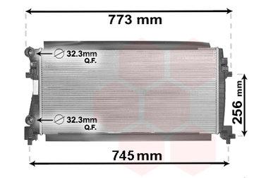 Radiateur 1.2 TSi /1.6 TDI 5Q0121251EC / 5Q0121251EB