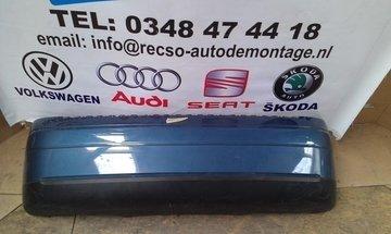 achterbumper Audi A2 bumper blauw krasjes