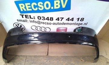 achterbumper Audi A5 2009 bumper zwart krasjes