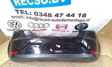 achterbumper Seat Ibiza 3-deurs bumper zwart krasjes